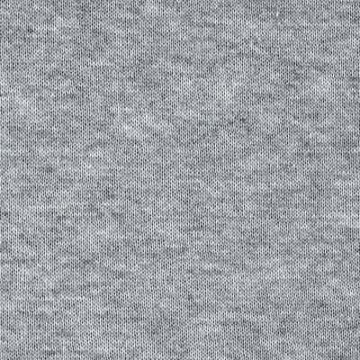 Brushed French Terry Knit Heather Grey