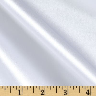 Preview Textiles 100% Silk Charmeuse White