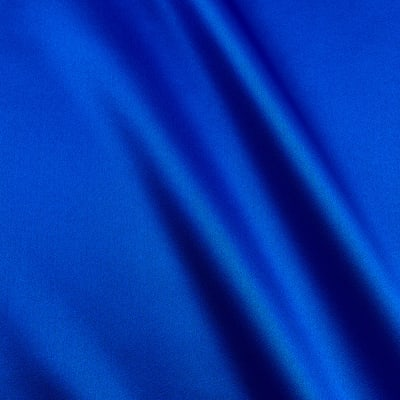 100% Silk Charmeuse  Royal Blue