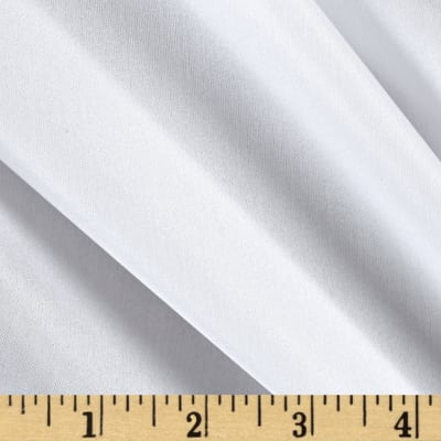 100% China Silk Lining White