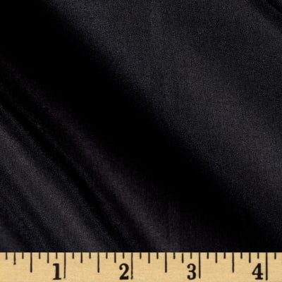 Preview Textiles 100% China Silk Lining Black