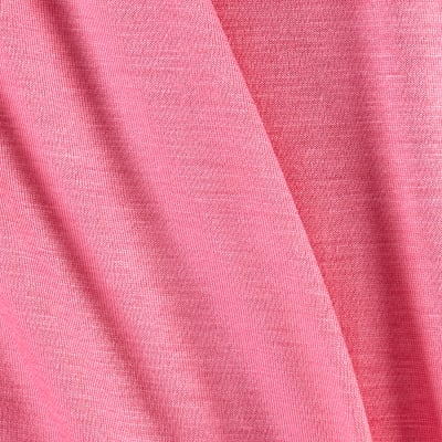 Jersey Knit Solid Neon Pink
