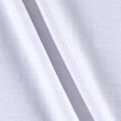 Jersey Knit Solid PFP White