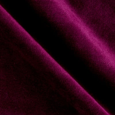 Solid Velour Berry