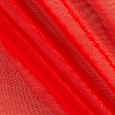 "120"" Sheer Voile Red"