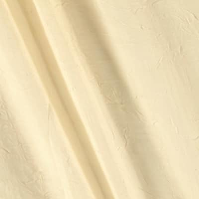 "108"" Crushed Sheer Voile Butter"