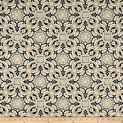 Bryant Indoor/Outdoor Mendoza Medallion Cobblestone