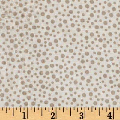 Little Bird Confetti Double Gauze Light Taupe