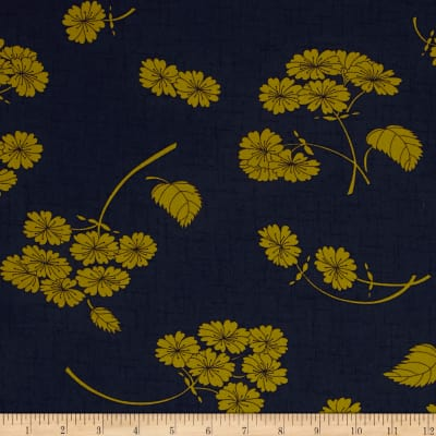 Moda Haiku Falling Bloom Indigo
