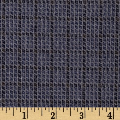 Moda Wool & Needle lV Flannels Hay Bale Plaid Grey/Blue