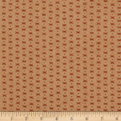 Moda Endangered Sanctuary Flannel Cross Dot Pecan