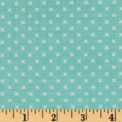 Moda Lullaby Stitch Aqua