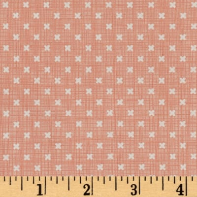 Moda Lullaby Stitch Peach