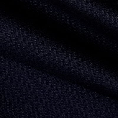 Cotton Pique Knit Navy