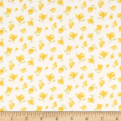 Moda Sweet Baby Flannel Sweet Roses Sunshine/Cloud