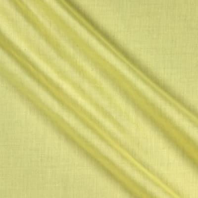 "60"" Poly Cotton Broadcloth Light Yellow"