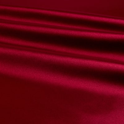 Bridal Satin Burgundy