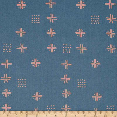 Art Gallery Tapestry Mudcloth Blue