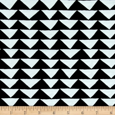 Moda Thicket Triangles Black/White