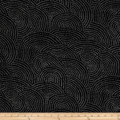 Moda Thicket Swirls Black/Natural