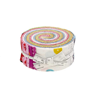 "Moda Hey Dot 2.5"" Jelly Roll"