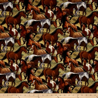 Wild Wings Rhapsody West Packed Horses Multi