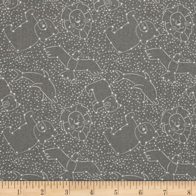 To The Moon & Back Constellations Dark Grey