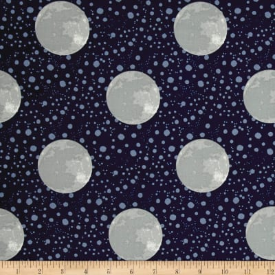 To The Moon & Back Earth Navy Grey
