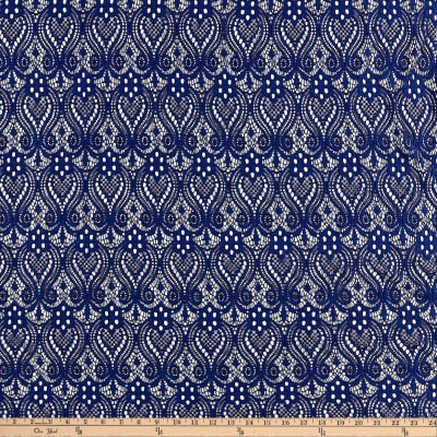 Ornamental Lace Navy