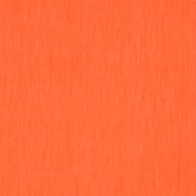 Soft Spun Poly Jersey Knit Neon Orange