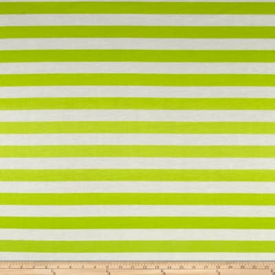 Ombre Jersey Knit Stripe Green/Lime