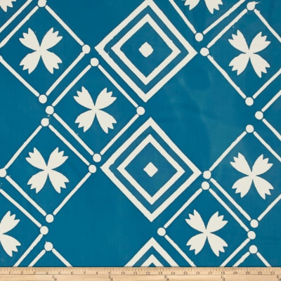 Alison Glass Handcrafted Patchwork Batik Tile Cornflower Blue