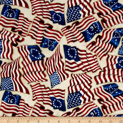 Home Of The Brave American Flags Oatmeal