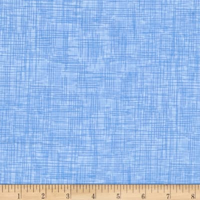 QT Fabrics Harmony Flannel Plaid Powder Blue