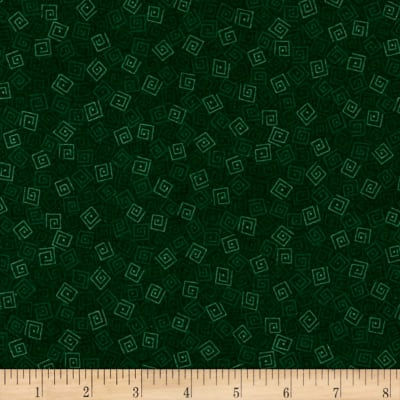 QT Fabrics Harmony Flannel Squares Forest