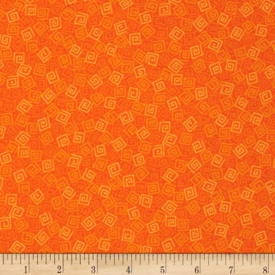 Harmony Flannel Squares Carrot