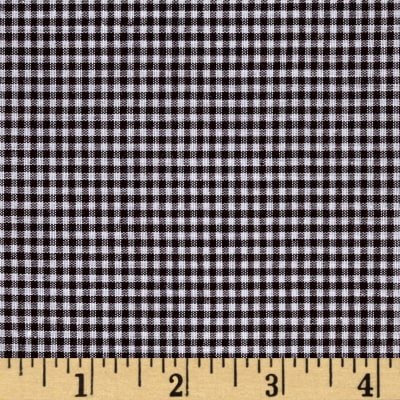 "Richcheck 60"" Gingham Check 1/16"" Brown"