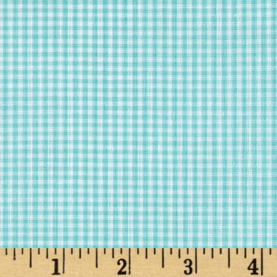"Richcheck 60"" Gingham Check 1/16""  Mint"