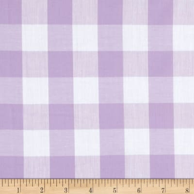 "Richcheck 60"" Gingham Check 1"" Lilac"