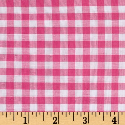 "Richcheck 60"" Gingham Check 1/4"" Fuchsia"