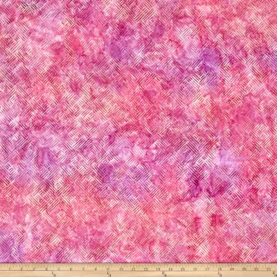 Kaufman Batiks Splendid Lattice Rose