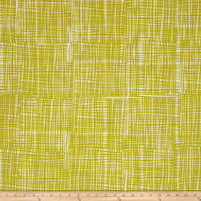 Kaufman Marks by Valori Wells Grid Plaid Gold