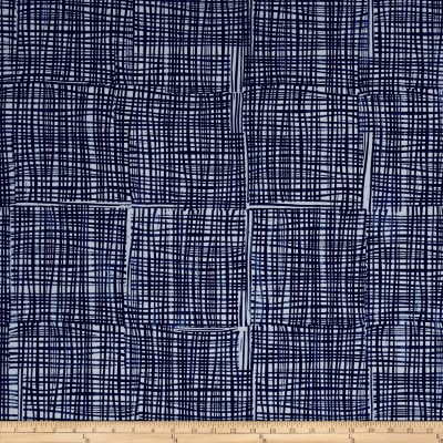 Kaufman Marks by Valori Wells Grid Plaid Storm