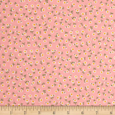 Kaufman Sevenberry Petite Classics Buds Baby Pink