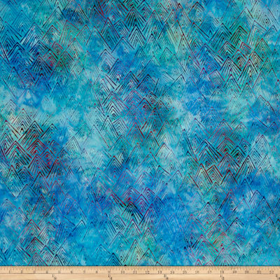 Kaufman Batiks To The Point Peaks Breakers