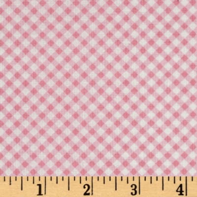 First Blush Gingham Pink