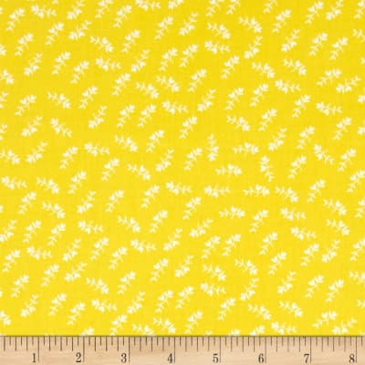 Maribel Mono Floral Yellow