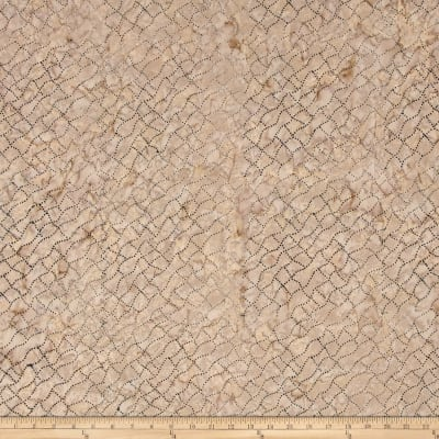Timeless Treasures Batik Tonga Sophisticate Dotty Net Stone