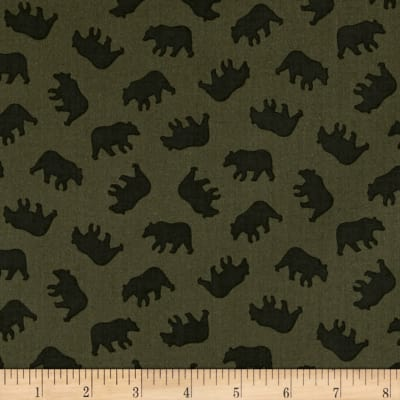 Michael Miller Into The Wild Little Bears Olive