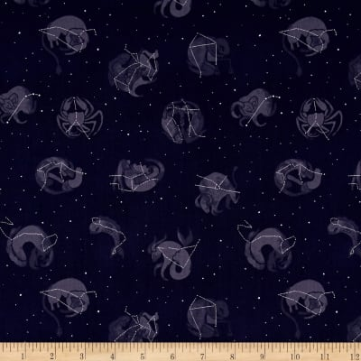 Dear Stella Moon Garden Constellations Navy